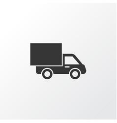 Van icon symbol premium quality isolated lorry vector
