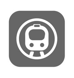 flat speed train vector image