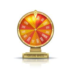 wheel of fortune vector image