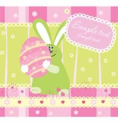 Easter illustration vector image