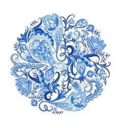 Paisley Decorative Pattern vector image