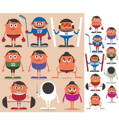 Sports 2 vector image vector image