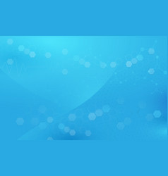 Abstract soft blue geometric hexagons background vector