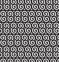 Black and white spiral pattern EPS10 vector