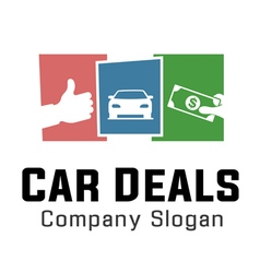 Deals Car Design vector image