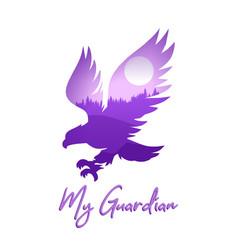 Eagle quote vector