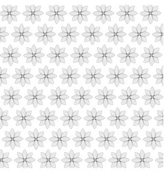 Floral design doodle whit vector