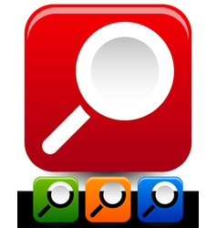 magnifier icons magnifying glass icons editable vector image