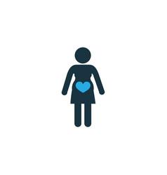 pregnancy colorful icon symbol premium quality vector image