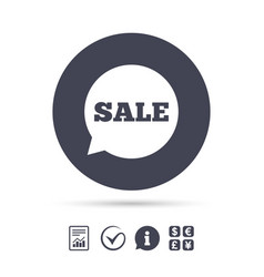 Sale sign icon special offer symbol vector