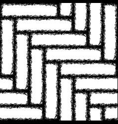 Seamless herringbone texture of the carpet vector