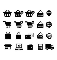 Shopingg Icon vector image