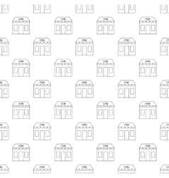 Store pattern seamless vector