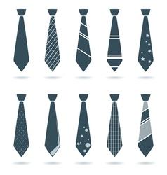 Tie for businessman vector