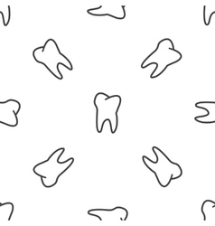 Tooth pattern vector