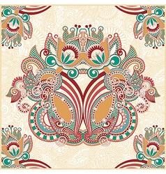Traditional Ornamental Floral Paisley Bandana vector image vector image