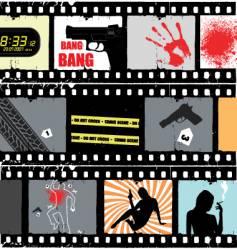 movie scene vector image vector image