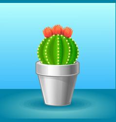 Organic exotic plant concept vector
