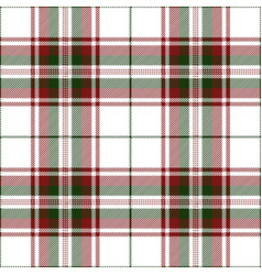 christmas festive tartan plaid pattern vector image