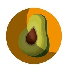 fresh vegetable farm product vector image