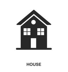house icon line style icon design ui vector image