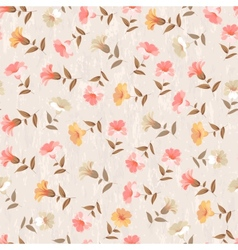 Luxurious color flower pattern vector image