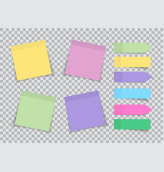 note paper post sticky memo blank sticker vector image