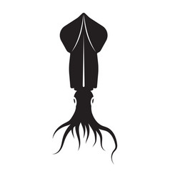 squid icon vector image