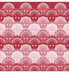Abstract textile seamless pattern of lace ribbons vector image vector image