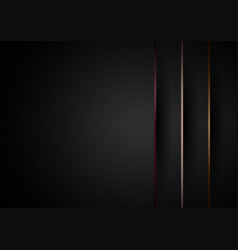 abstract modern black paper layers overlap vector image