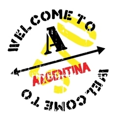 Argentina stamp rubber grunge vector