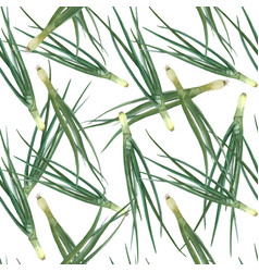 green onion seamless pattern vector image
