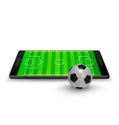 sport betting online soccer onlite horizontal vector image