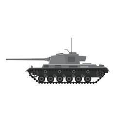 Tank german world war 2 tiger i heavy tank vector