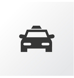 Taxi icon symbol premium quality isolated cab vector
