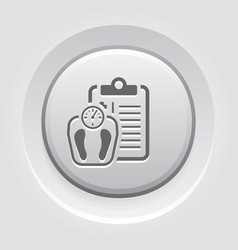 weight management flat icon vector image