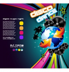 international music event vector image vector image