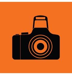 Icon of photo camera vector