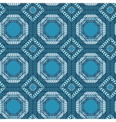 Abstract seamless pattern with a trellis structure vector image