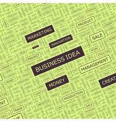 BUSINESS IDEA vector image