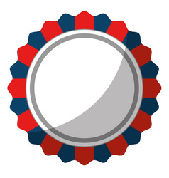 Circular frame icon vector
