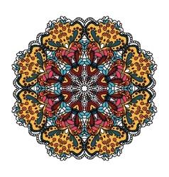 Openwork vector image
