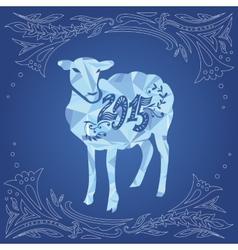 Sheep and 2015 vector