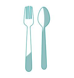 Spoon icon image vector