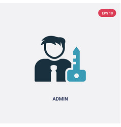 Two color admin icon from strategy concept vector