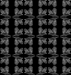 The pattern of a raven vector image vector image