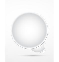 3d bubble vector image