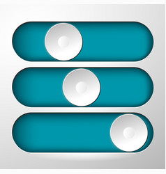 Buttons for switching symbol vector