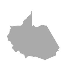 Map madre de dios vector
