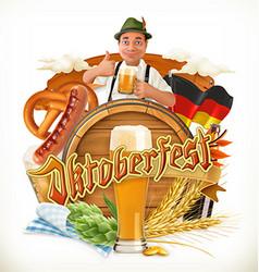 Munich beer festival oktoberfest can also be vector